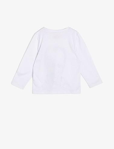 Koton Kids Atatürk Baskılı T-Shirt Beyaz